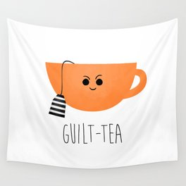 Guilt-tea Wall Tapestry