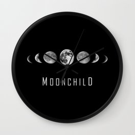 Moonchild - Moon Phases Wall Clock