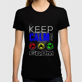 Keep Calm and GROM, Blue T-shirt