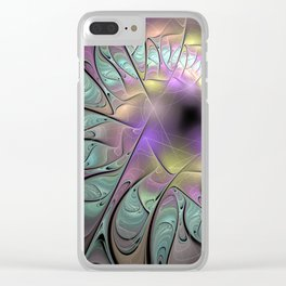 Beautiful fractal Clear iPhone Case