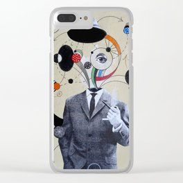 Mr SYNERGY Clear iPhone Case