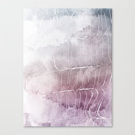 Finee Finese Mauvelous Canvas Print