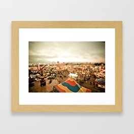 All Is Fair Framed Art Print