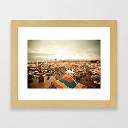 All Is Fair Framed Art Print