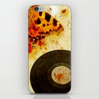moth iPhone & iPod Skins featuring moth by Markus Breitbach