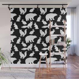 Polar Animals Wall Mural