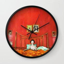 Amélie's Bed Wall Clock