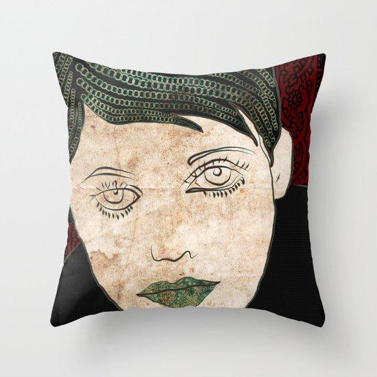 156 Throw Pillow