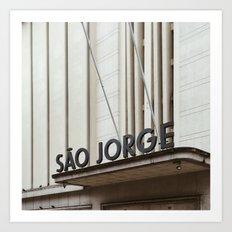 Lisboa Art Deco #03 Art Print