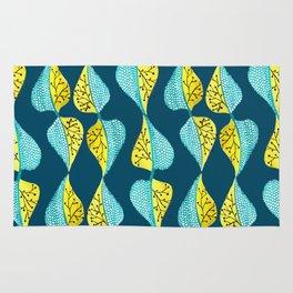 Botanical pattern art Rug