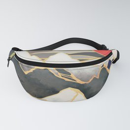 Ice Mountains Fanny Pack