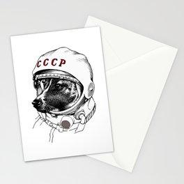 laika, space traveler Stationery Cards