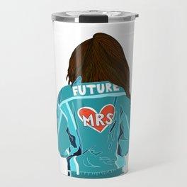 Future MRS Brunette bride Travel Mug