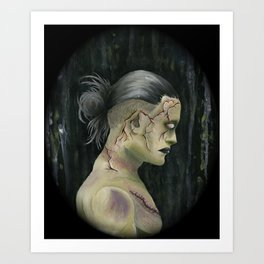 Prometheus Adam ( cameo version ) Art Print