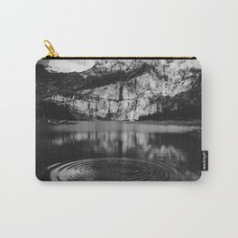 Ripple (Black and White) Carry-All Pouch