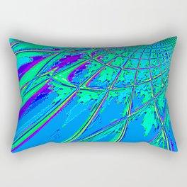 Re-Created Web of Lies7 by Robert S. Lee Rectangular Pillow