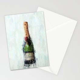 Champagne Time Stationery Cards