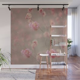 Rose, rose, red rose,  Rose in the heather... Wall Mural