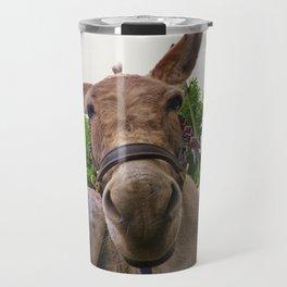 CUTE DONKEY FACE Travel Mug