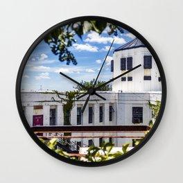 Jail Cell Views Wall Clock