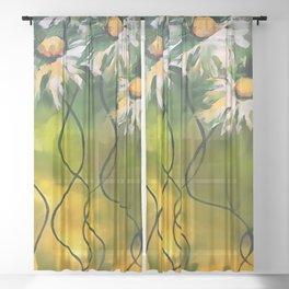 Dance Daisy Dance Sheer Curtain