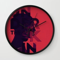 Under the skin - alternative movie poster Wall Clock