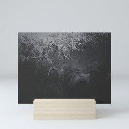 Field of Horses Mini Art Print