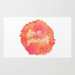 Love Yourself Rug