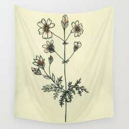 Love a Flower Wall Tapestry