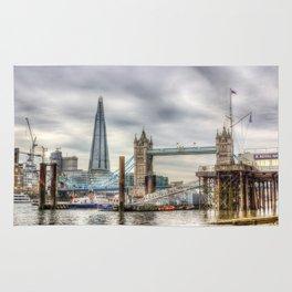 River Thames View Rug