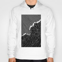 wave Hoodies featuring Wave by Tim Bywater