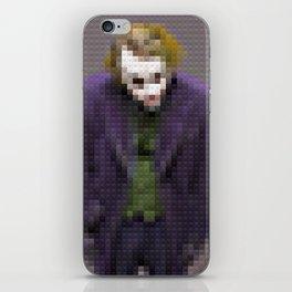 Joker - Why so serious - Toy Building Bricks iPhone Skin