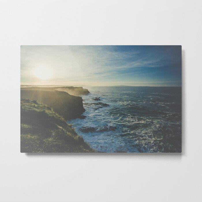 Cliffside Morning Metal Print