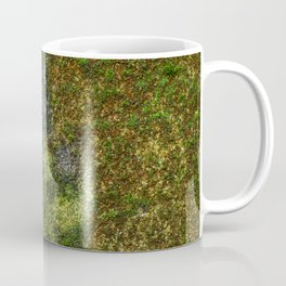 Old stone wall with moss Coffee Mug