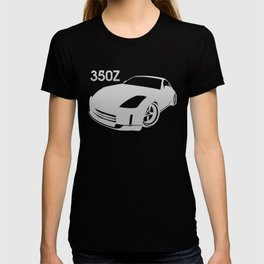 Nissan 350Z - silver - T-shirt