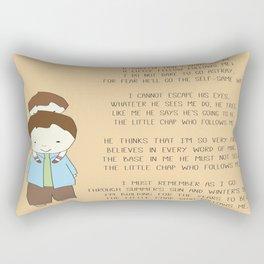 The Little Chap Who Follows Me! Rectangular Pillow