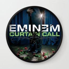EMINEMPOSTER EMINEME EMINEMI SLIM SHADY CURTAIN CALL SHADY POSTER  Wall Clock