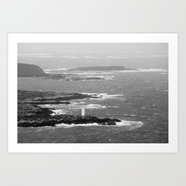 Ireland Oceanview Art Print