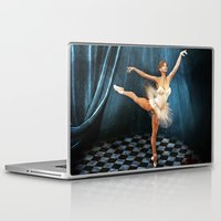ballerina Laptop & iPad Skins featuring ballerina by Ancello