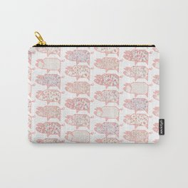 Pig Terrazzo Carry-All Pouch