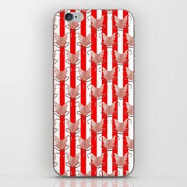 ugly duckling in red stripes iPhone Skin