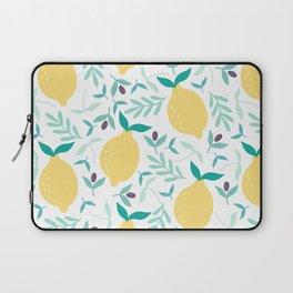 Lemon & Blueberry Pastel Laptop Sleeve