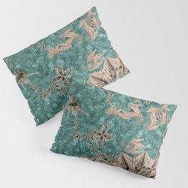 Synchro Fractals Pillow Sham