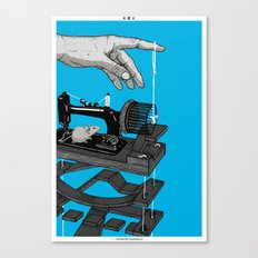 Mechanical rat Canvas Print