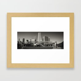 Jay Pritzker Music Pavilion at Millennium Park, Chicago. Framed Art Print