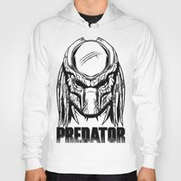 predator Hoodies featuring Predator by OneAppleInBox