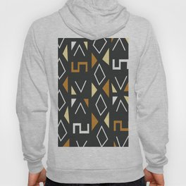 African Tribal Pattern No. 12 Hoody