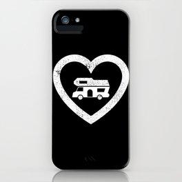Motorhome Heart - Camper van Owner Gift iPhone Case