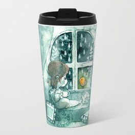 Blue Day Travel Mug