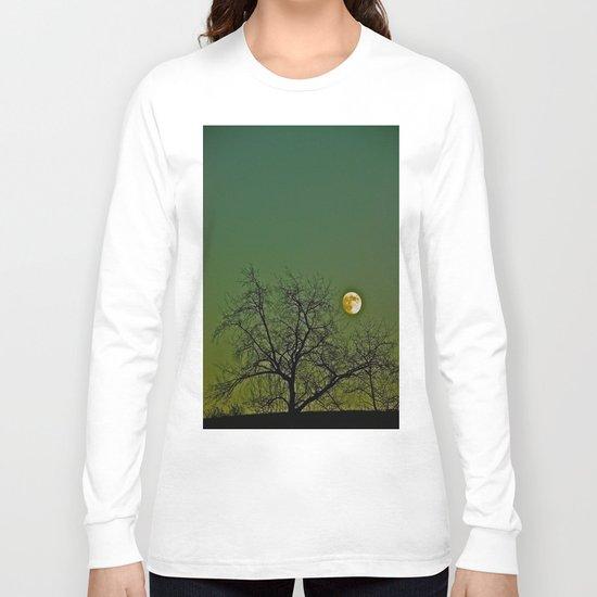 Tangled Tree Moon Long Sleeve T-shirt